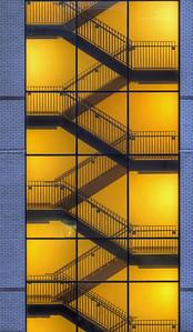 Hospital Stairway - downtown Louiscieel