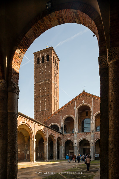 The Basilica of Sant'Ambrogio, Milan