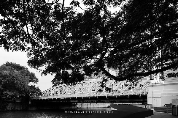Anderson Bridge, Singapore
