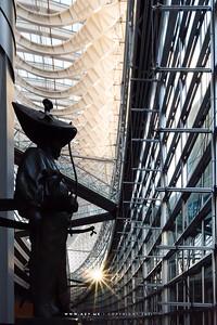 Statue of Ota Dokan at Tokyo International Forum
