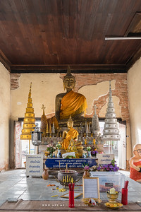 Old Ubosot, Wat Mai Amphawan, Nakhon Ratchasima (Korat)