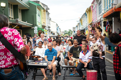 Street Musician, Phuket Old Town