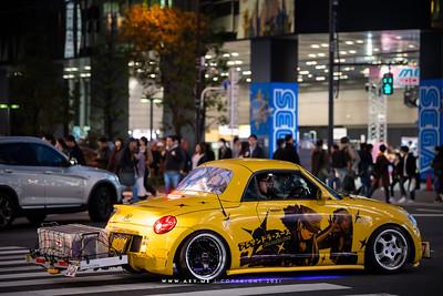 Itasha Car, Akihabara