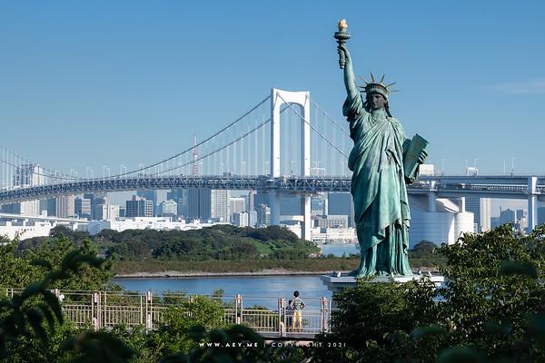 Odaiba Statue of Liberty
