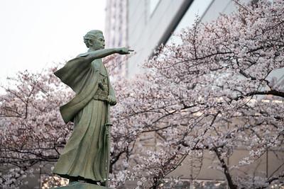 Statue of Kaishu Katsu