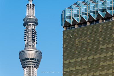 Tokyo Skytree & Asahi Beer Headquarter Building