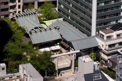 Shiba Daijingū view from World Trade Center Building