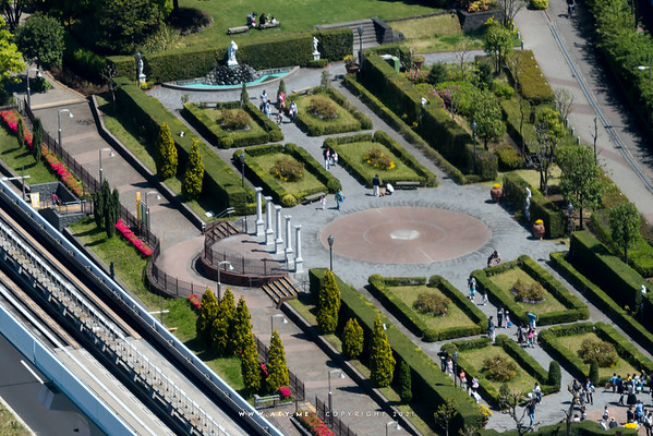 Italy Park view from World Trade Center Building
