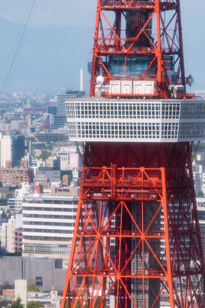 Tokyo Tower view from World Trade Center Building