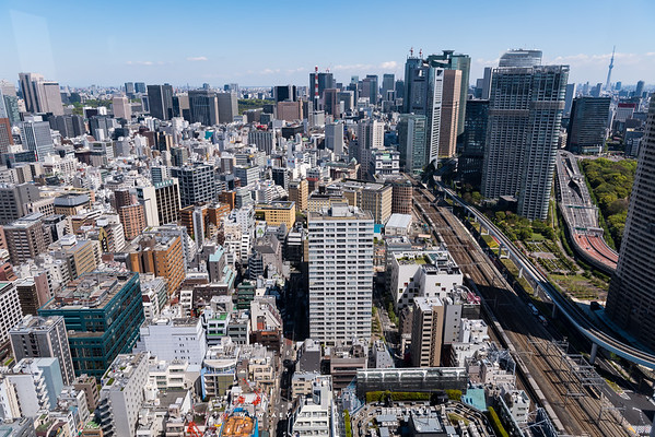 Tokyo view from World Trade Center Building