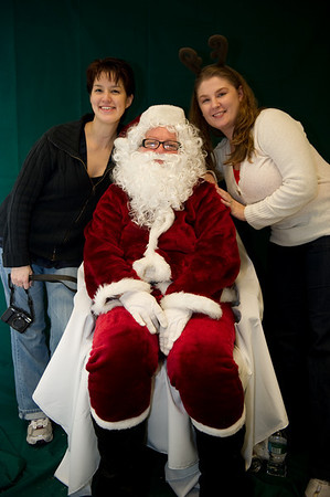 Our crack Photos with Santa team