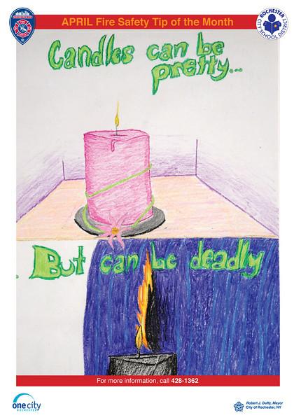 April: by SOTA 8th grader Clara O'Connor