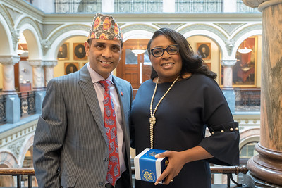Mayor Warren Meets Council General of Nepal