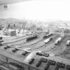 7/17/1951 - A view of the Police Athletic League's model railroad layout. Rochester Municipal Archives modern collection M626
