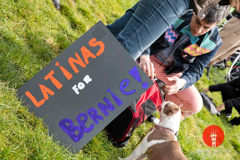 Bernie Sanders Rally, Mar 24, 2019 at Fort Mason