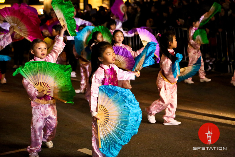 Chinese New Year Parade Feb 20, 2016 in San Francisco's Chinatown