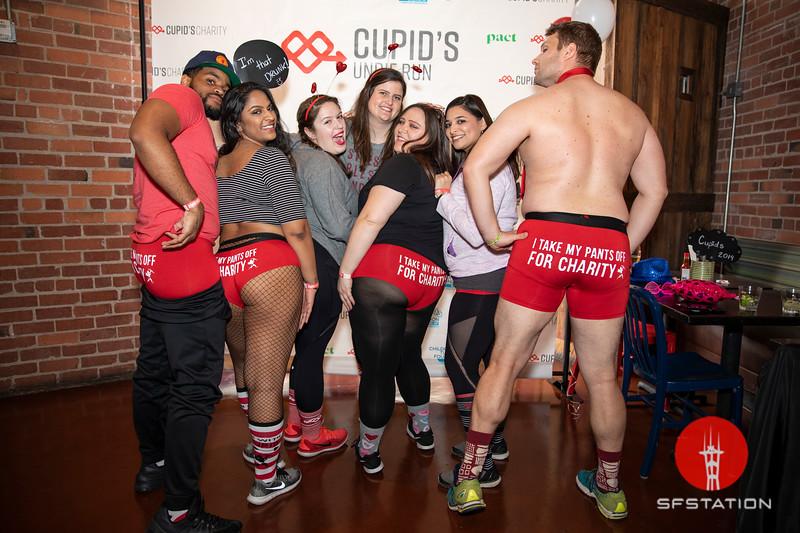 Cupid's Undie Run, Feb 9, 2019 at Pedro's Cantina