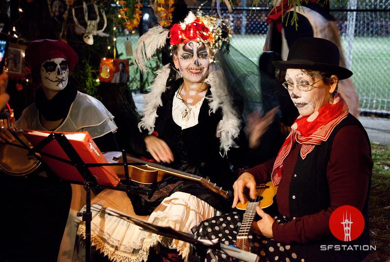 Dia de los Muertos 2016 Nov 2, 2016 in The Mission