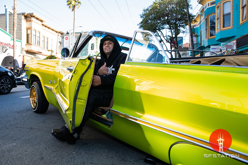 Lowrider Tribute Cruise to Selena 2019, Apr 20, 2019 in the Mission District