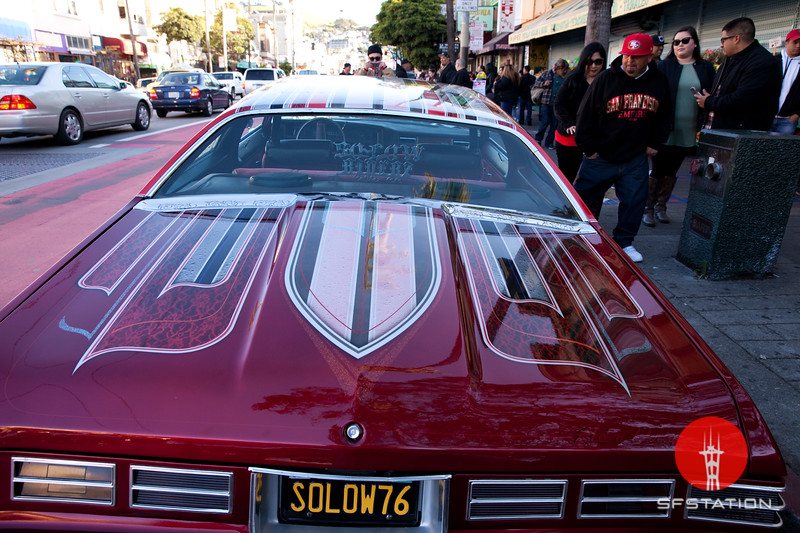 Lowrider Tribute to Selena 2017, Apr 8, 2017 at Mission and 24th Streets