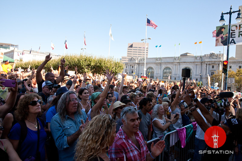 Peace, Love & Understanding Rally, Aug 26, 2017 at the Civic Center