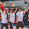 Pride Parade 2016, Jun 26, 2016 on Market Street in San Francisco