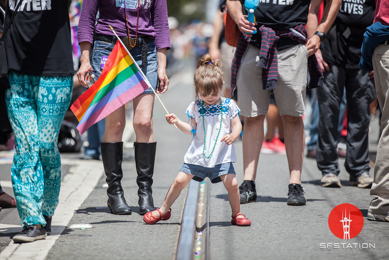 Pride Weekend in SF: Pink Saturday and Sunday Parade