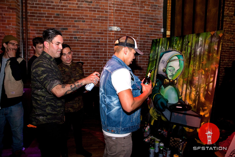 Re:Creation w/ Dan The Automator + DJ Qbert, May 18, 2017 at The Great Northern