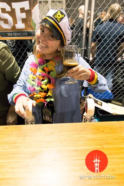 SF Beer Week Opening Gala 2016 Jan 22, 2016 at Pier 35