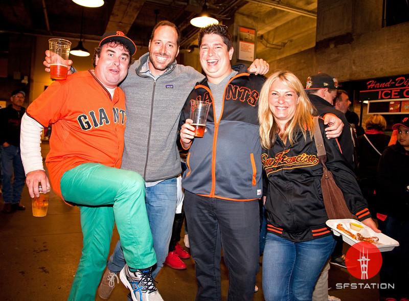 SF Giants Irish Heritage Night Aug 15, 2016 at AT&T Park