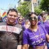 SF Pride, Jun 25, 2017 on Market Street in San Francisco