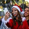 SantaCon 2018, Dec 8, 2018 at Union Square in San Francisco