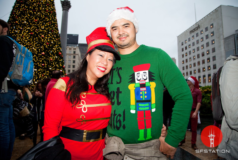 Santacon 2016, Dec 10, 2016 at Union Square