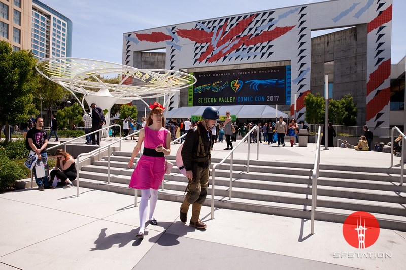 Silicon Valley Comic Con 2017, Apr 23, 2017 at the San Jose Convention Center