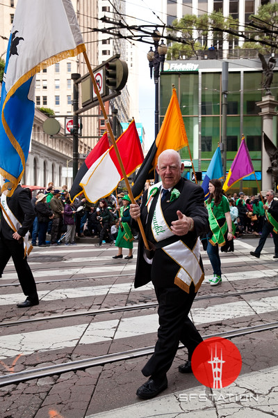 St. Patrick's Day Parade, Mar 11, 2017 on Market Street