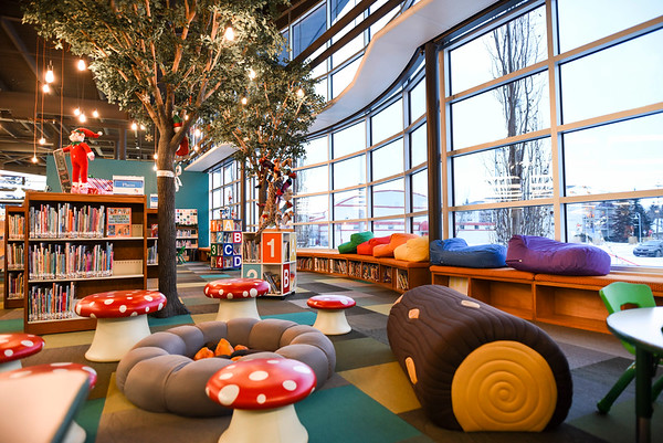Leduc Public Library - kids area