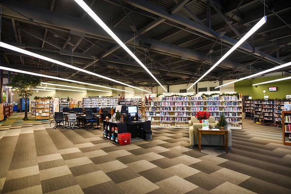 Leduc Public Library - interior