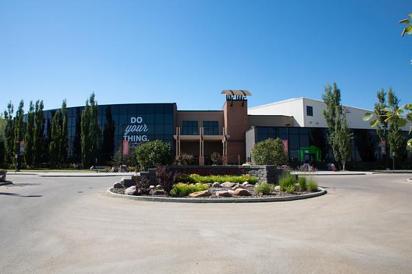 Leduc Recreation Centre East Entrance