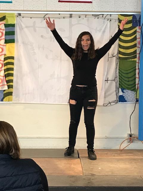Monologue Performance