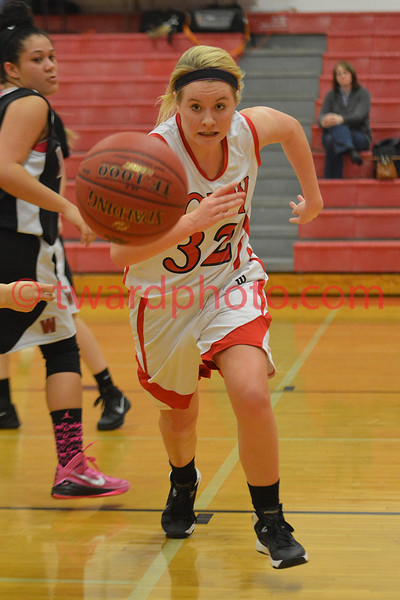 2015 CHS Sophomore Gilrs Basketball - Waterloo West