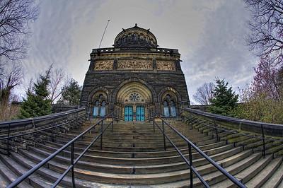 Garfield Monument HDR Fisheye shot