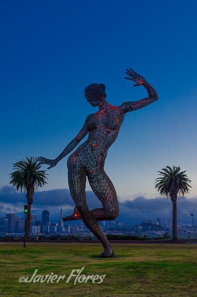 Nude Dancer at Treasure Island