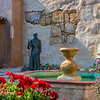 Fountain at Carmel Mission