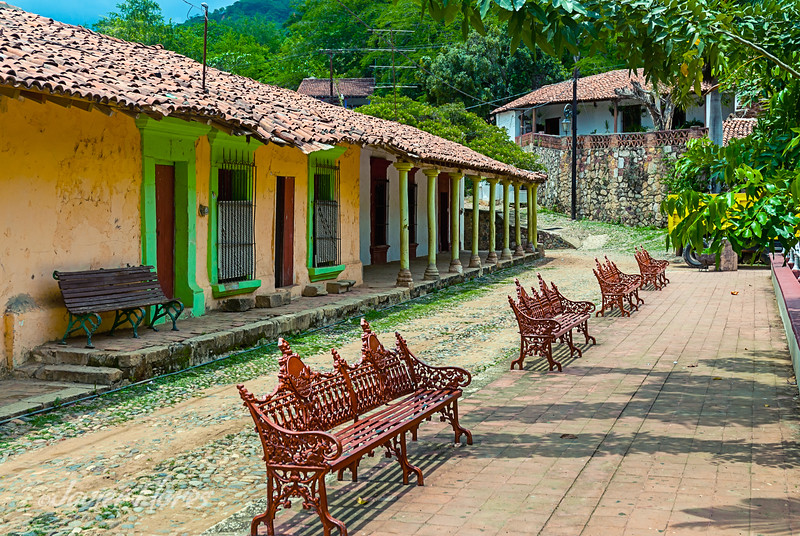 Central Plaza In Copala