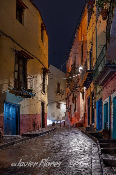 Guanajuato Callejon at Night