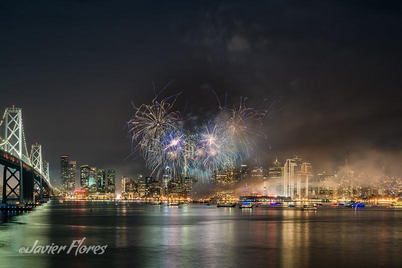 San Francisco New Years Fireworks