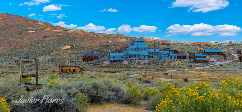 Bodie Ghost Town Stamp Mill