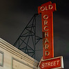 Old Orchard Street Sign, San Jose CA