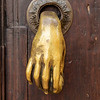 Golden Door Knocker