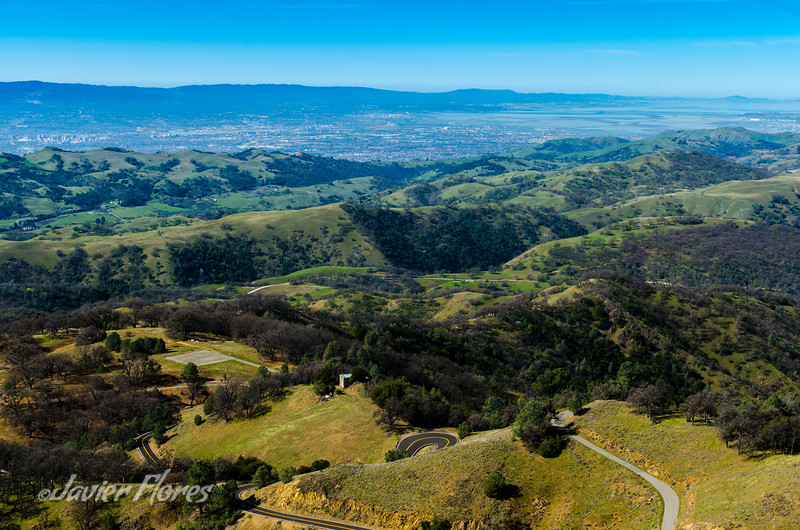 Silicon Valley From Mt. Hamilton, California
